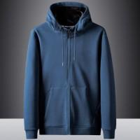 racdde Jeep chariot men's hooded fleece sweater men's jacket windproof warm jacket casual loose solid color men's tops